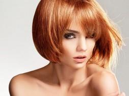 Женские стрижки на средние волосы с челкой