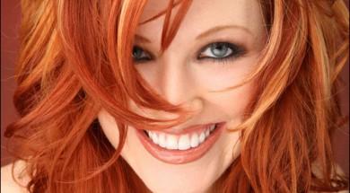 Омбре рыжие волосы техника