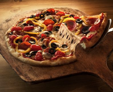 Калорийность пиццы