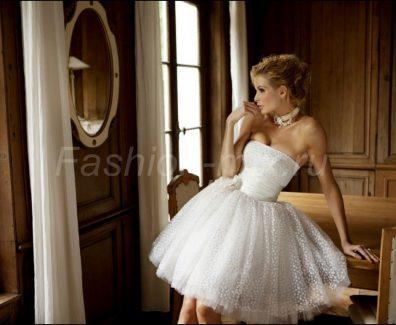 Свадьба. Короткие свадебные платья