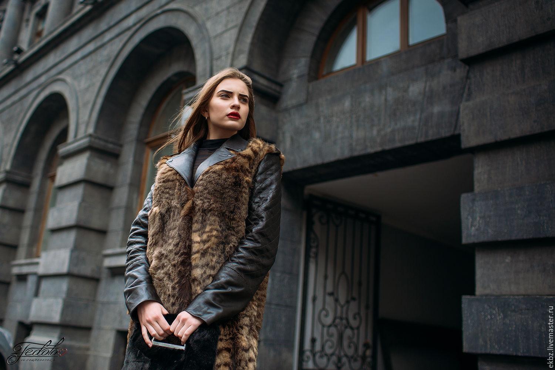 Выбираем и оцениваем модное пальто из кроликов