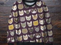 Свитшоты с котами
