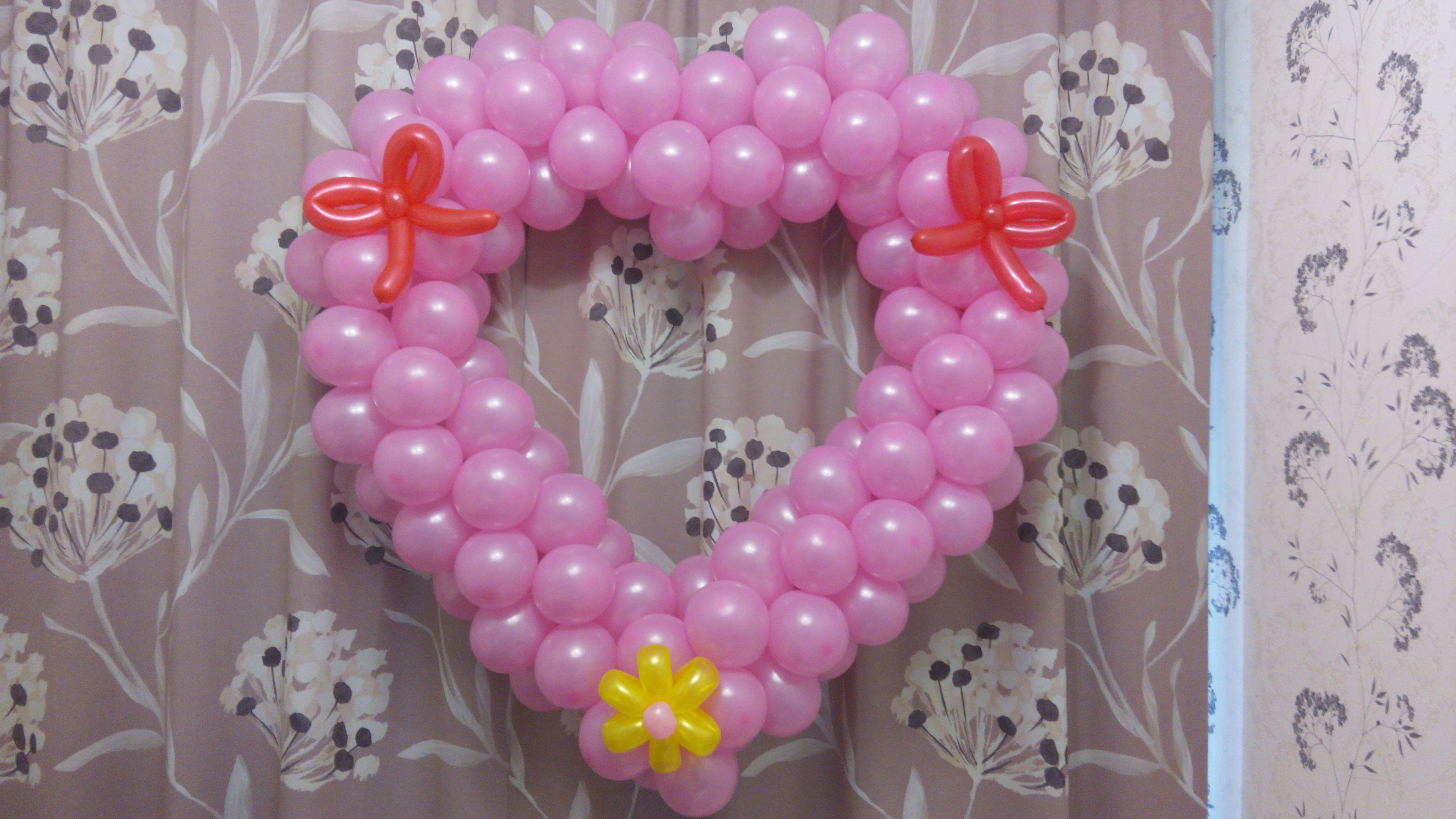 Воздушные шары для роддома