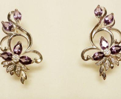 Серебряные украшения с камнями - их привлекательность и очарование