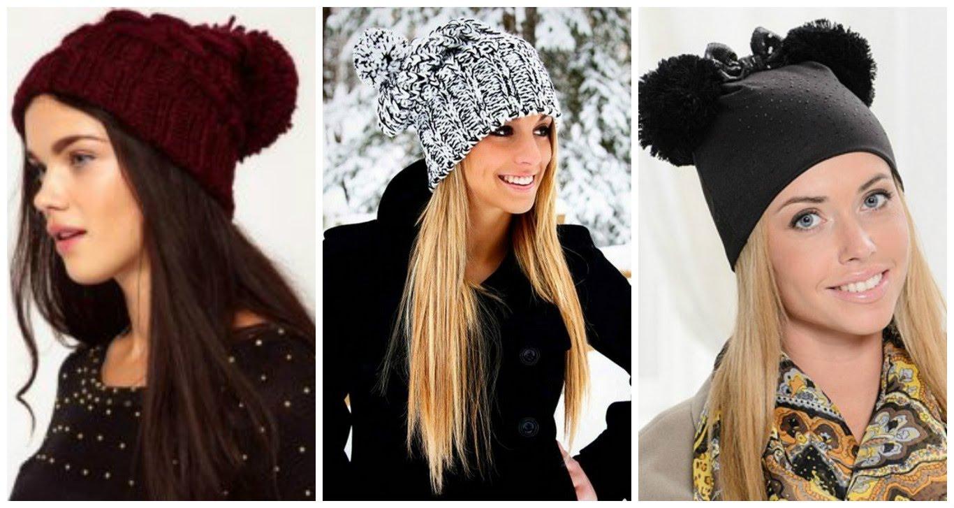 Вязание модных шапок 2016 года 425